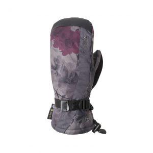 Mănuși Snowboard 686 Gore-Tex Linear Mitt Charcoal X-Ray Floral