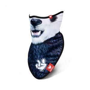 Bandană Snowboard & Ski HI PANDA, WOLFACE