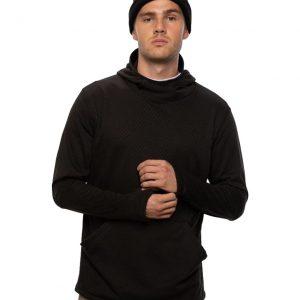 Bluză Termică Mid-Layer 686 Mission Grid Fleece Hoody Black
