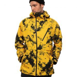 Geacă Ski și Snowboard 686 GLCR Hydra Thermagraph Jacket Sub Yellow Tie Dye