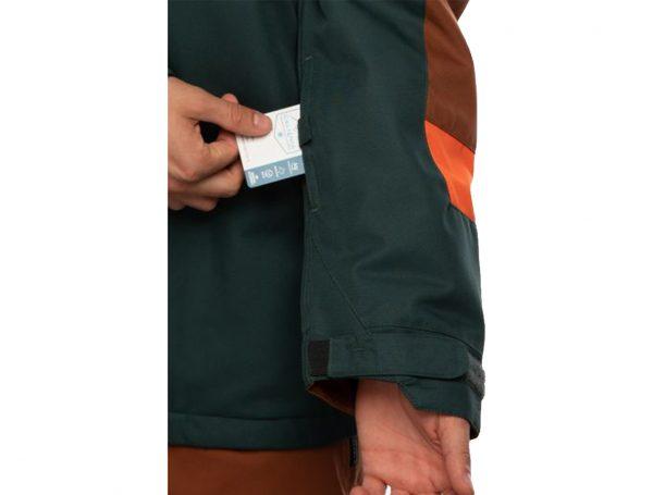 Geacă Ski și Snowboard 686 Static Insulated Jacket Dark Spruce Colorblock